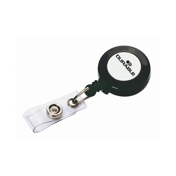 Durable 85cm jojós névkitűző tartó - 1