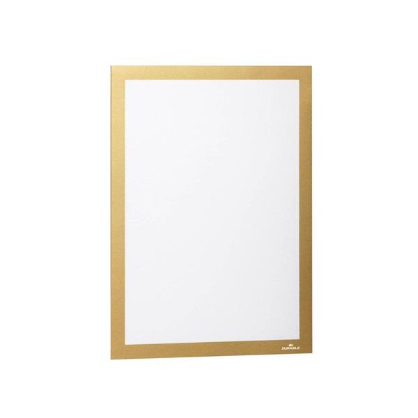 Durable Duraframe A4 2db arany információs keret - 1