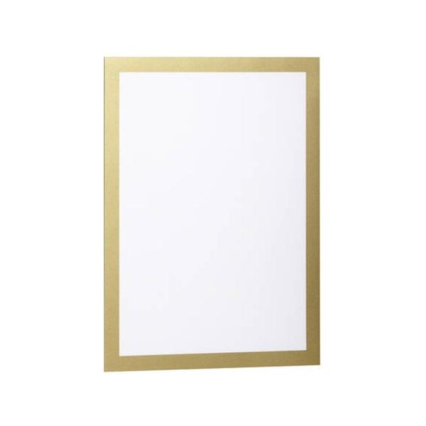 Durable Duraframe A4 2db arany információs keret - 3