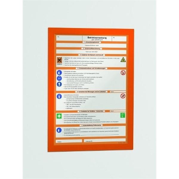 Durable Duraframe A4 2db zöld információs keret - 1