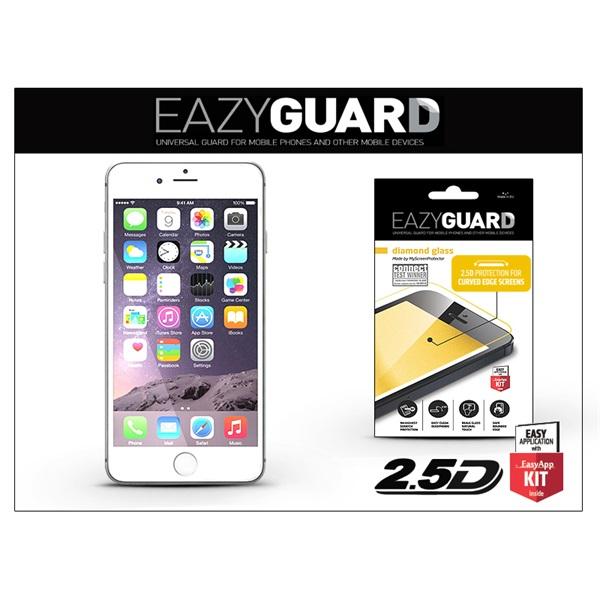 EazyGuard LA-1292 iPhone 6/6S fehér üveg kijelzővédő fólia - 1