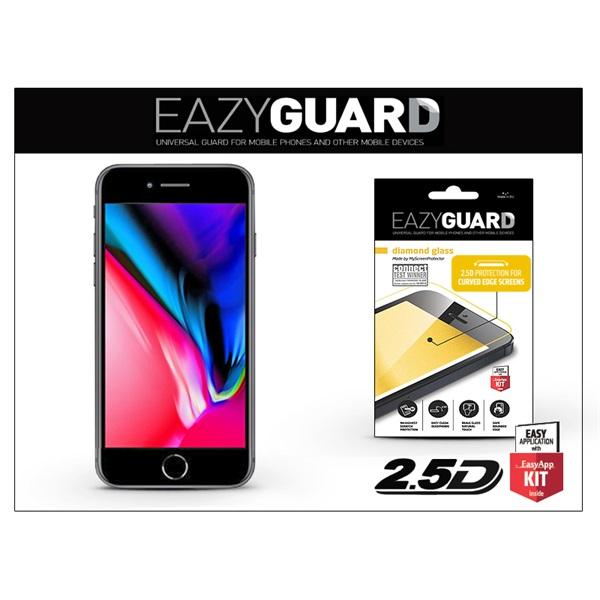 EazyGuard LA-1310 2.5D iPhone 8+ fekete kijelzővédő fólia - 1