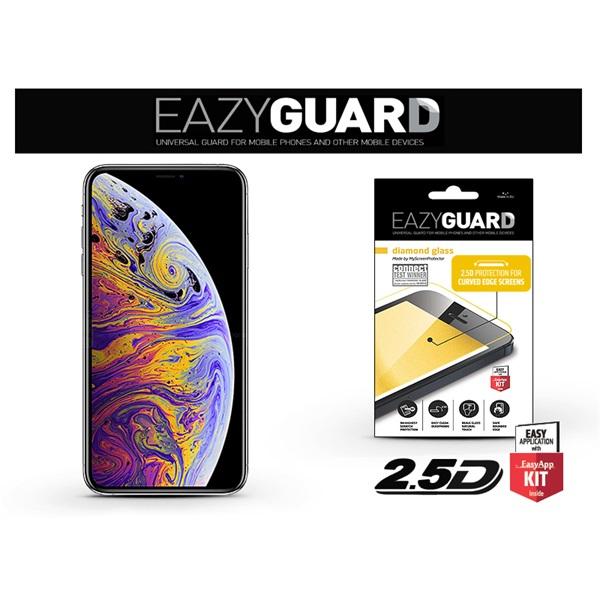 EazyGuard LA-1411 iPhone X/XS/11 Pro fekete 2.5D üveg kijelzővédő fólia - 1