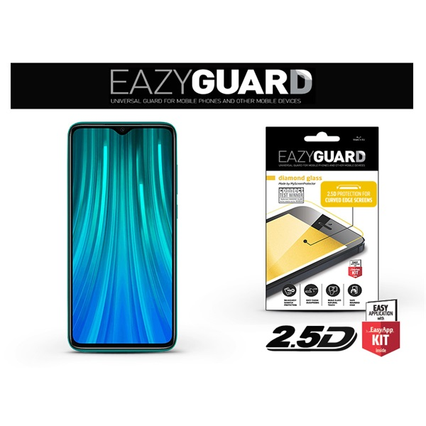 EazyGuard LA-1563 2.5D Xiaomi Note 8 Pro üveg kijelzővédő fólia - 1