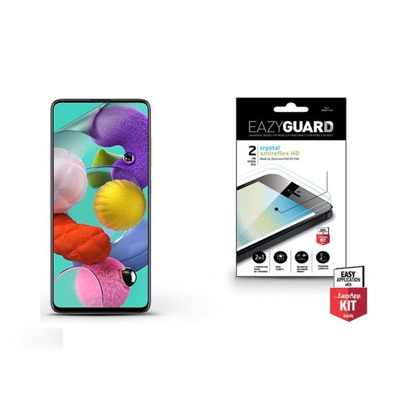 EazyGuard LA-1581 Samsung A51 Crystal/Antireflex HD kijelzővédő fólia 2db - 1