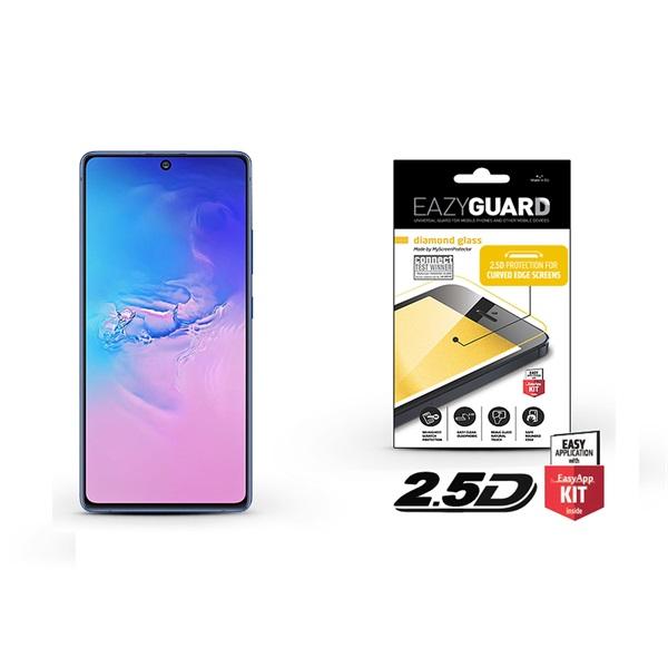 EazyGuard LA-1609 Samsung S10 Lite 2.5D üveg kijelzővédő fólia - 1