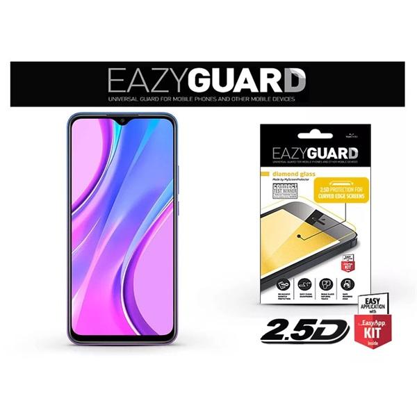 EazyGuard LA-1649 2.5D Xiaomi Redmi 9 üveg kijelzővédő fólia - 1