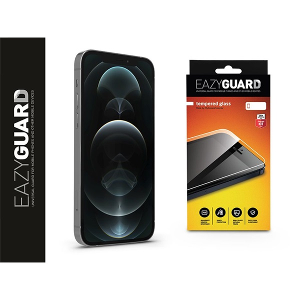 EazyGuard LA-1746 iPhone 12 Pro Max üveg kijelzővédő fólia - 1