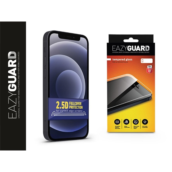 EazyGuard LA-1749 iPhone 12 Mini 2.5D üveg kijelzővédő fólia - 1