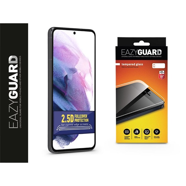 EazyGuard LA-1800 Galaxy S21+ 2.5D üveg kijelzővédő fólia - 1