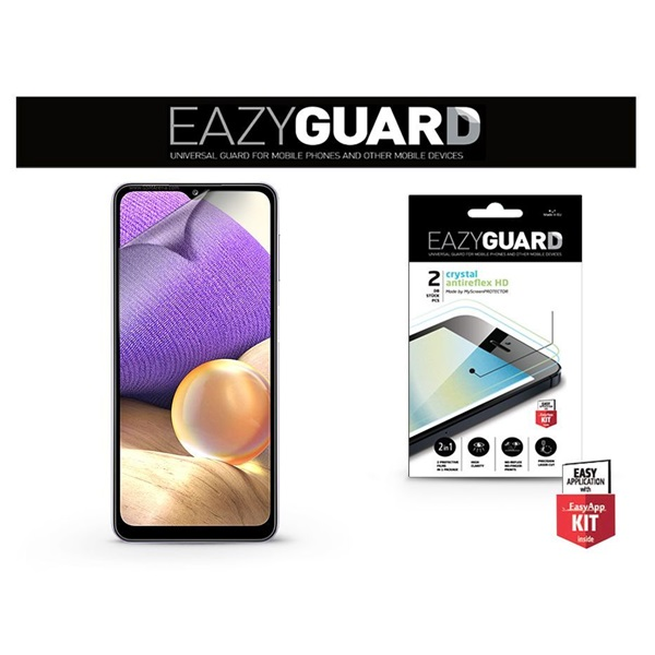 EazyGuard LA-1819 Samsung A32 5G Crystal/Antireflex HD 2db kijelzővédő fólia - 1