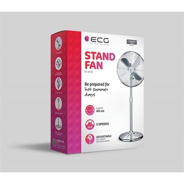 ECG FS40N 40cm álló ventilátor - 2