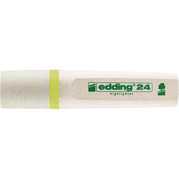 Edding 24 Ecoline sárga szövegkiemelő - 2