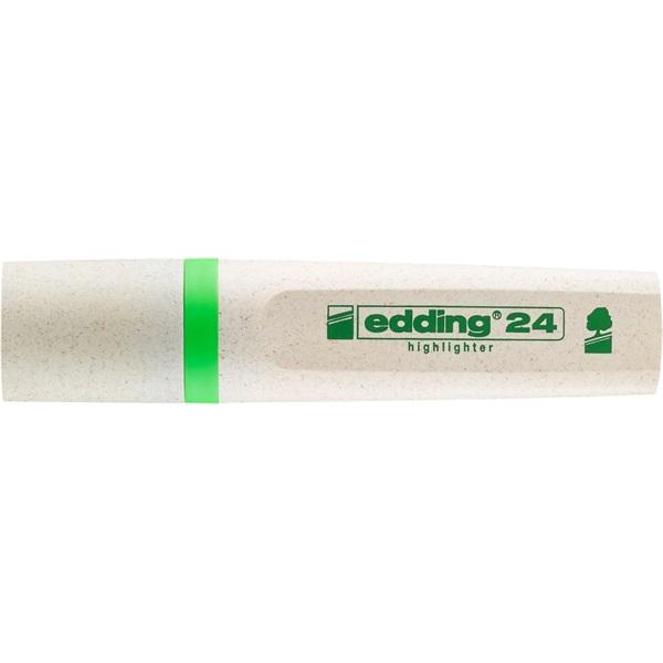 Edding 24 Ecoline világoszöld szövegkiemelő - 1