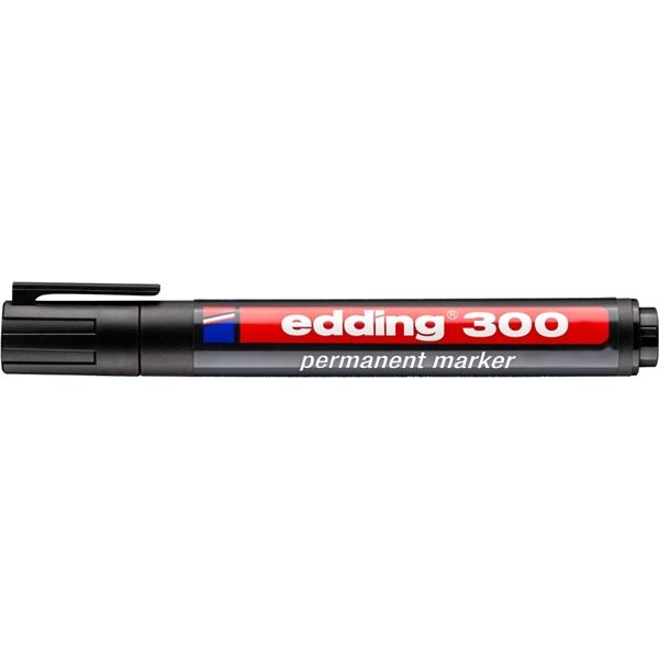 Edding 300 1,5-3mm Permanent fekete marker - 1