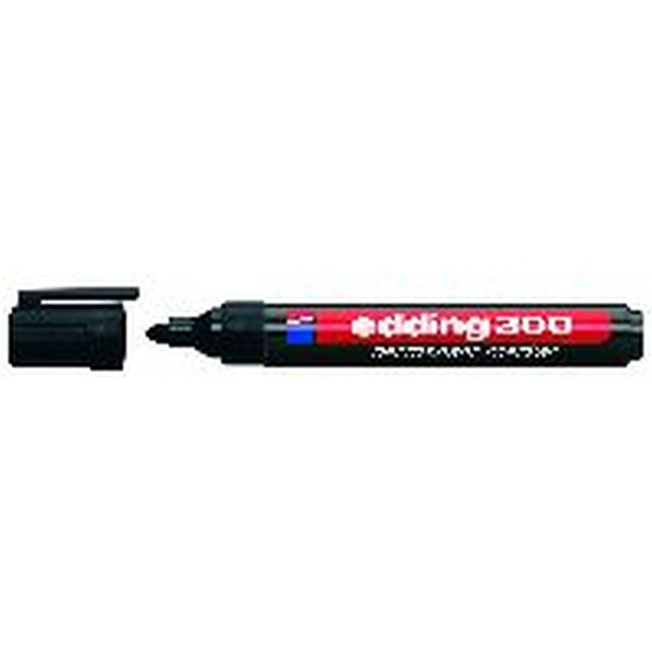 Edding 300 fekete permanent marker - 1