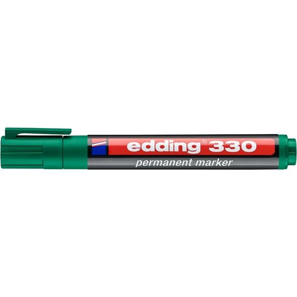 Edding 330 1-5mm Permanent zöld maker - 1