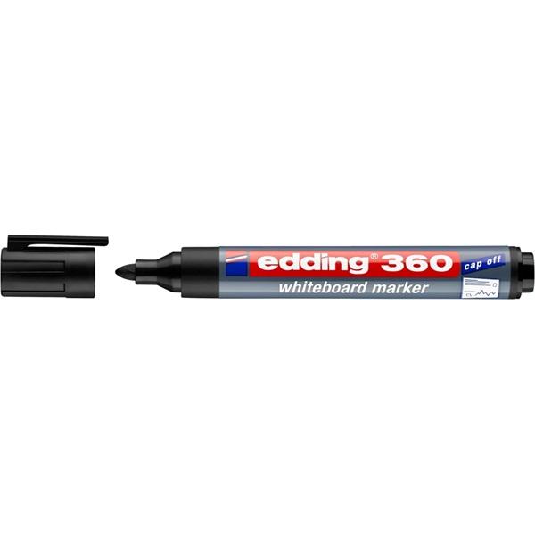 Edding 360 1,5-3mm fekete táblamarker - 2