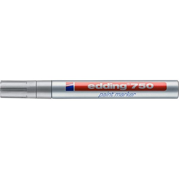 Edding 750 2-4mm ezüst lakkmarker - 1