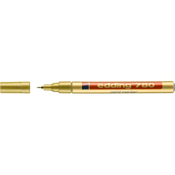 Edding 780 0,8mm arany lakkmarker - 2