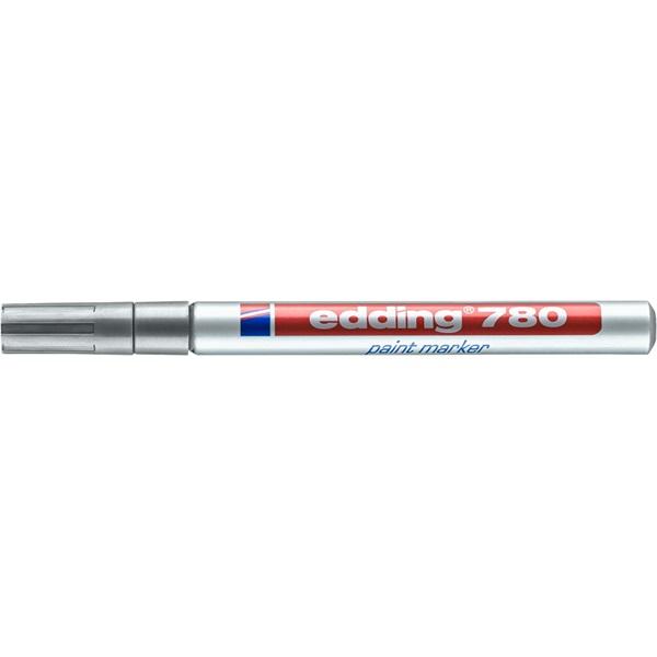 Edding 780 0,8mm ezüst lakkmarker - 1