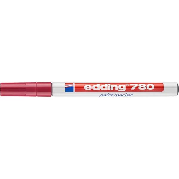 Edding 780 0,8mm piros lakkmarker - 1