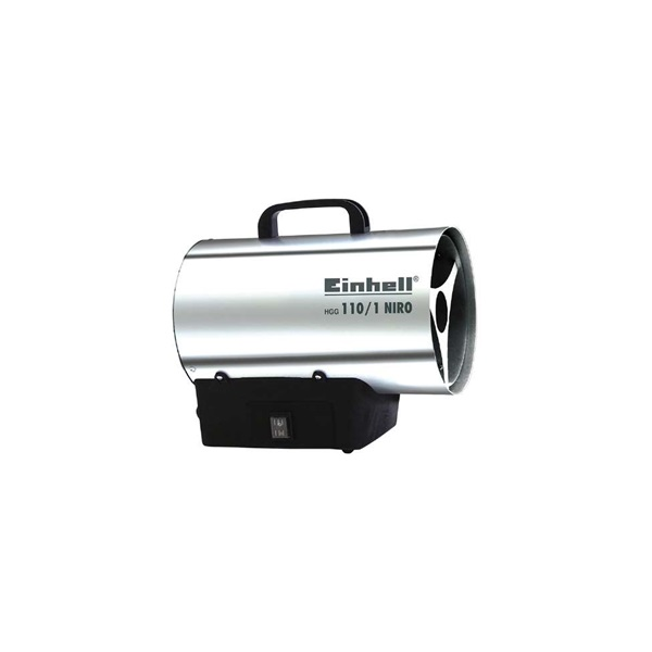 Einhell 2330111 HGG 110/1 Niro gázos hőlégfúvó - 1