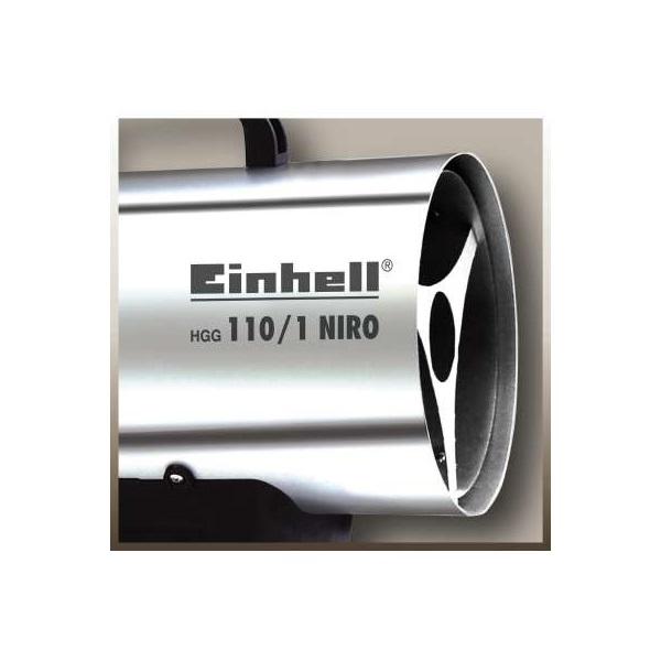 Einhell 2330111 HGG 110/1 Niro gázos hőlégfúvó - 3