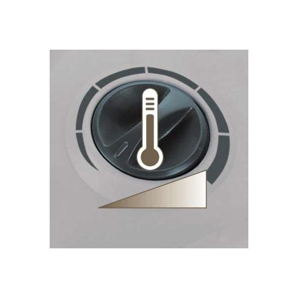 Einhell 2338220 HKLO 2000 elektromos hősugárzó - 3
