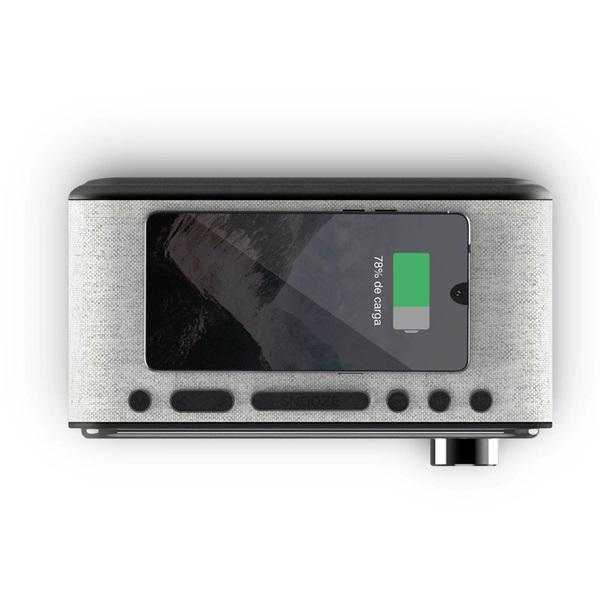 Energy Sistem EN 448692 vezeték nélküli töltős Bluetooth 10W stereó órás hangszóró - 4