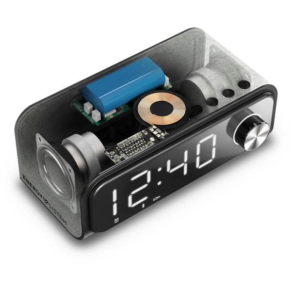 Energy Sistem EN 448692 vezeték nélküli töltős Bluetooth 10W stereó órás hangszóró - 5