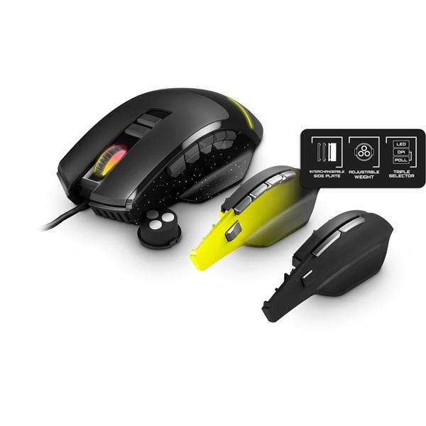 Energy Sistem EN 452071 Gaming Mouse ESG M5 Triforce RGB gamer egér - 1