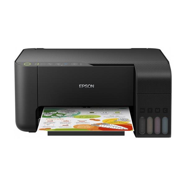 Epson L3150 EcoTank színes tintasugaras fekete multifunkciós nyomtató - 1