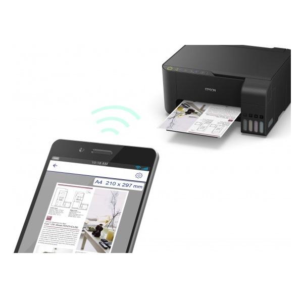 Epson L3150 EcoTank színes tintasugaras fekete multifunkciós nyomtató - 3