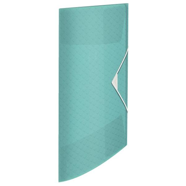 Esselte ColourIce A4 kék gumis mappa - 1