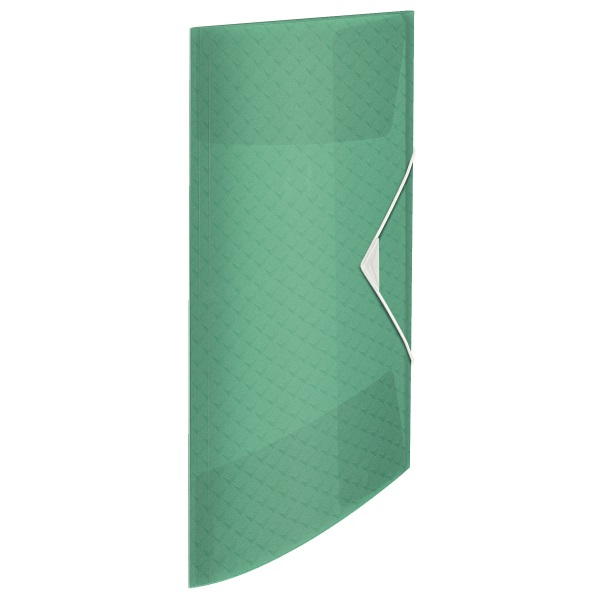 Esselte ColourIce A4 zöld gumis mappa - 1