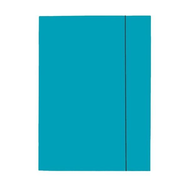 Esselte Economy A4 karton kék gumis mappa - 1