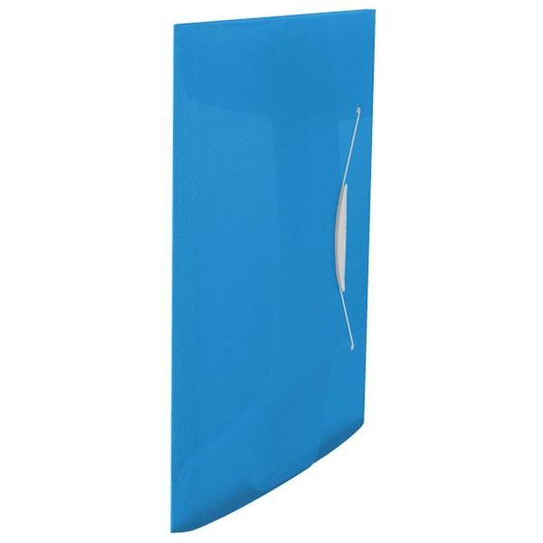 Esselte Vivida A4 műanyag kék gumis mappa - 1