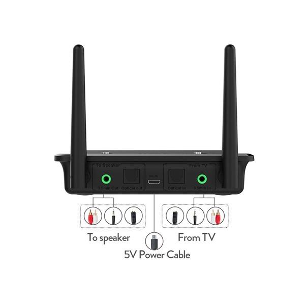 Evolveo AudioConverter XS Bluetooth adó/vevős DAC jelátalakító - 4