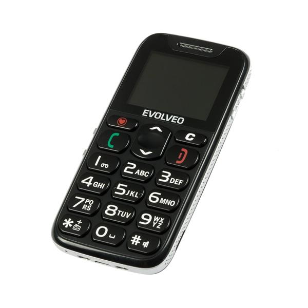 Evolveo Easyphone EP-500 1,8 fekete mobiltelefon - 3