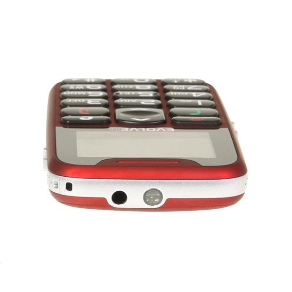 Evolveo Easyphone EP-500 1,8 piros mobiltelefon - 3