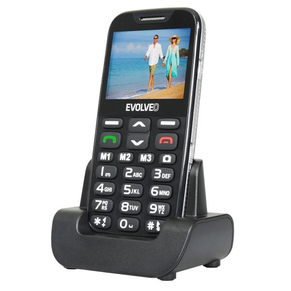 Evolveo Easyphone XD EP-600 2,3 fekete mobiltelefon - 3