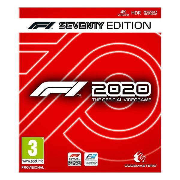 F1 2020 Seventy Edition Xbox One játékszoftver - 1
