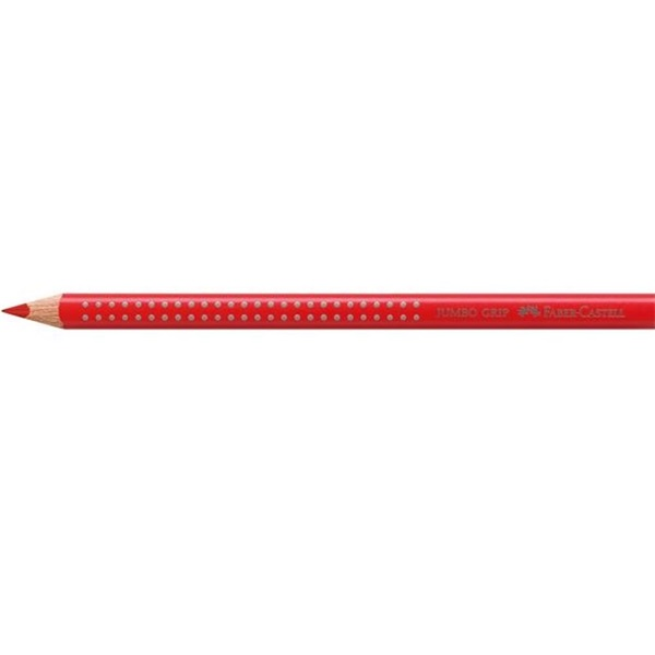 Faber-Castell Grip 2001 Jumbo piros színes ceruza - 1