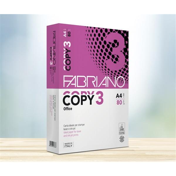 Fabriano Copy 3 Office A4 80g másolópapír - 2