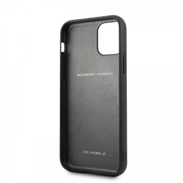 FERRARI iPhone 11 Pro függőlegesen csíkozott piros keménytok - 3