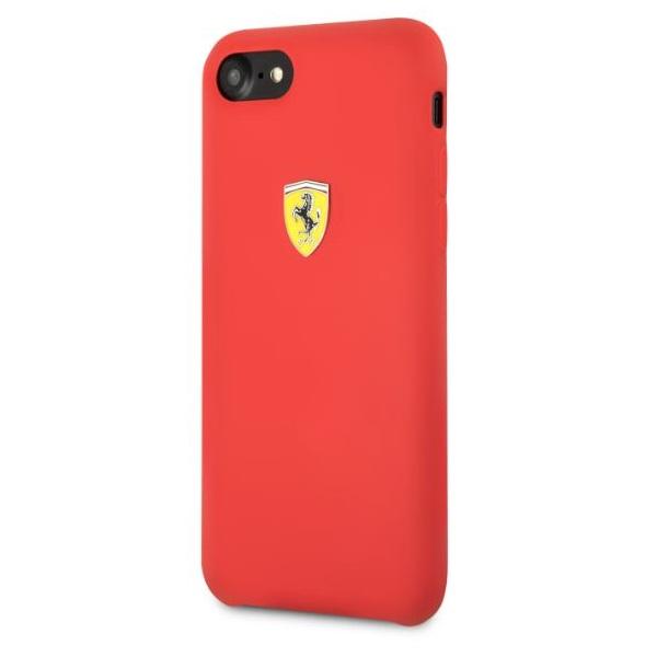 Ferrari iPhone 8 SF szilikon piros tok - 1