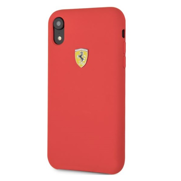 Ferrari iPhone XR SF szilikon piros tok - 1
