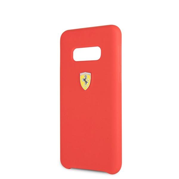 Ferrari Samsung S10 Lite SF piros szilikon tok - 2