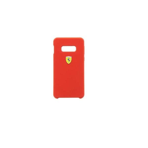 Ferrari Samsung S10 Lite SF piros szilikon tok - 4